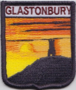 Glastonbury Tor Somerset County Embroidered Patch Badge
