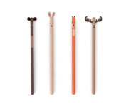 Kikkerland Woodland Pencils Set Of 4