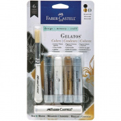Faber Castell Design Memory Craft Mix & Match Gelatos Designer Series 4/Pkg