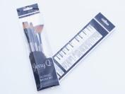 Jerry Q Art 4 PC Quality Taklon Paint Brush Set For Acrylic Paint JQ012