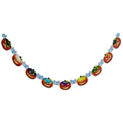 Sandistore Halloween Party Paper Garland Decoration for Halloween Props