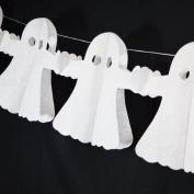 Quasimoon Ghost Halloween Garland Banner (3m) by PaperLanternStore