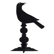 IHI Black Glitter Raven Centrepiece