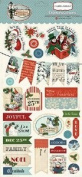 Carta Bella Paper Company Christmas Wonderland Chipboard, 15cm x 33cm