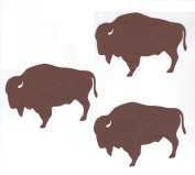 6pc Large Buffalo or Bison Die Cuts