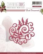 Find It Trading Bird Ornament Precious Marieke Charming Christmas Die
