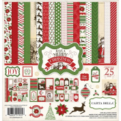 Carta Bella Paper Company Have a Merry Christmas Collection Kit, 30cm x 30cm