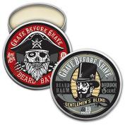 GBS Top Shelf Bourbon & Bay Rum Beard Balm Dual Pack