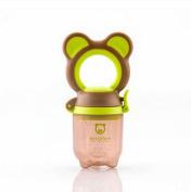 Gemini Fairy Bestborn Series Baby Teethers Fresh Food Feeder with Lovely Bear Design