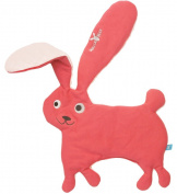 Wallaboo Soft Toy and Comforter, Poppy Red