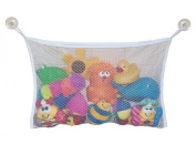 Cren Bath Tub Toy Mesh Bag Organiser for Baby Bath Toys with 2 Suction Cups, 18*36cm