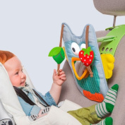 Musical Car Toy - Owl, Include a Remote Control for Parents Use. Keeps Both Baby and Parent Calm and Happy While in Car. Travel Toys, Travel Baby Toys