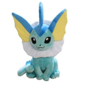 Vaporeon Pokemon 33cm Anime Animal Stuffed Plush Plushies Doll Toys