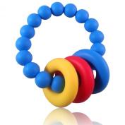 Teething Ring, Teether Loop Style Baby Teething Toy