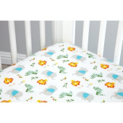 Zutano Juba 5 Piece Crib Set, Multi-Coloured
