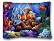 Custom Animal DIY Pillow Cover Size 50cm x 70cm suitable for X-Long Twin-bed