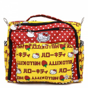 Ju-Ju-Be Hello Kitty Collection Convertible Nappy Bag, B.f.f. Strawberry Stripes