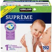 Kirkland SignatureTM Supreme Nappies Size 1; Quantity