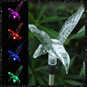 MMRM Fly Bird Design LED Path Light Colour Changing Solar Powdered Garden Yard Lawn Xmas Lighting Decoration
