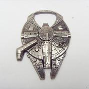 Star Wars Millennium Falcon metal alloy bottle opener