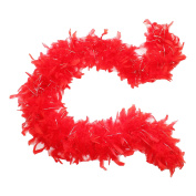 45g 130cm Turkey Chandelle Feather Boas, Over 40 Colours & Patterns to Pick Up