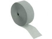 2 Roll/ 46m X 4.4cm Silver Grey Crepe paper Streamer