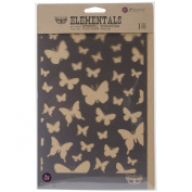 Prima Marketing Elementals Stencil -Butterflies, 17cm by 26cm