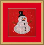 Double Snow Counted Cross Stitch Kit By Orcraphics