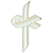 White Awareness Cross