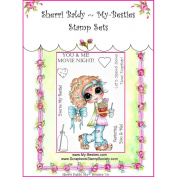 My-Besties Clear Stamps Set 10cm x 15cm -You & Me Movie Night