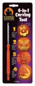 "Pumpkin Masters 4 In 1 Carving Tool Pumpkin 4-"""
