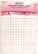 Dressmakers Squared Pattern Paper Square Pattern Paper 3 Sheets 87cm x 61cm