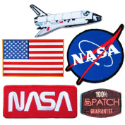 NASA Patches #27 - Save Pack - 6Patch