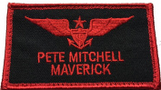US Navy Top Gun Strike Fighter Tactics Pete Mitchell Maverick Patch - By Patch Squad
