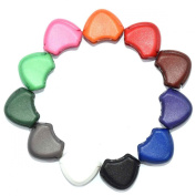 110pcs Colourful Plastic Zipper Pull Cord Ends Lock Stopper for Paracord