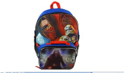 Star Wars Ep7 41cm Backpack with attachable Lunchbag Microsilk Printing