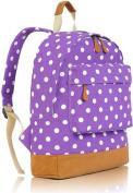 Kukubird POLKA DOT Backpack SPOTTY Rucksack School Bag (SINGLE POCKET