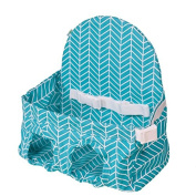 Carribean Blue Buggy Bench - Shopping Cart Seat for Your Baby or Toddler. Great for Twins or 2 Young Kids!