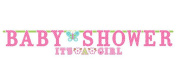 Welcome Little One Girl Banner 2ct [2 Retail Unit(s) Pack] - 121459