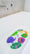 Safest Non-Slip Baby Bath Mat for Tub - Perfect for Bathroom and Kids.