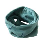 FEITONG Autumn Winter Boys Girls Collar Baby Anchor Scarf Cotton O Ring Neck Scarves