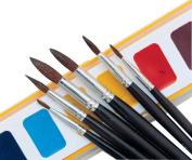 Binney & Smith Crayola(R) Better Quality Watercolour Brush Series 1121, 8, Hair Length 2.1cm .