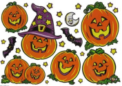 Halloween Window Clings - 2 Pack