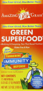Amazing Grass Green Superfood Immunity Defence- Tangerine, Box Of 15 Individual Servings, 5mls