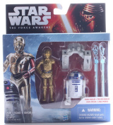 Star Wars The Force Awakens 9.5cm Figure 2-Pack Snow Mission R2-D2 and C-3PO