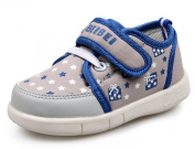 LISA HANDMADE Babies' Canvas Sneakers Toddler's Little Kid's Walking Cycling Shoes
