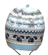Baby Boy Knitted Hat Infant Boys Autumn Winter Cap 0 3 6 9 12 18 mths