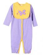 SellerFun® Unisex 3-12M Infant Baby Boy Girl Romper Coverall with Bib