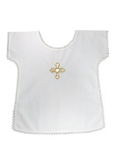 La Preziosa Veste, Baptism Infant Vestment with Cross