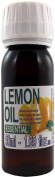Pure Lemon Oil - Super big 50ml/1.69oz bottle -100% pure. Therapeutic grade. Origin Spain. Bottled and shipped from Spain